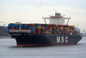 Photo of MSC BARBARA ship