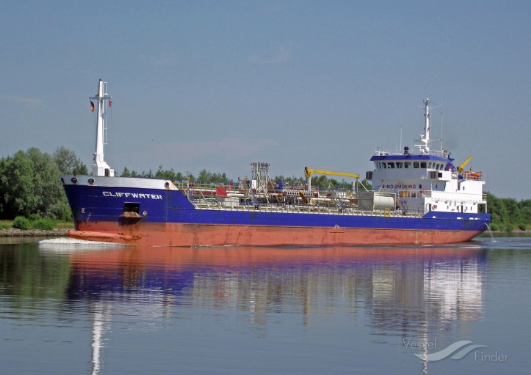 CLIFFWATER (MMSI: 244123000) ; Place: Kiel_Canal/ Germany