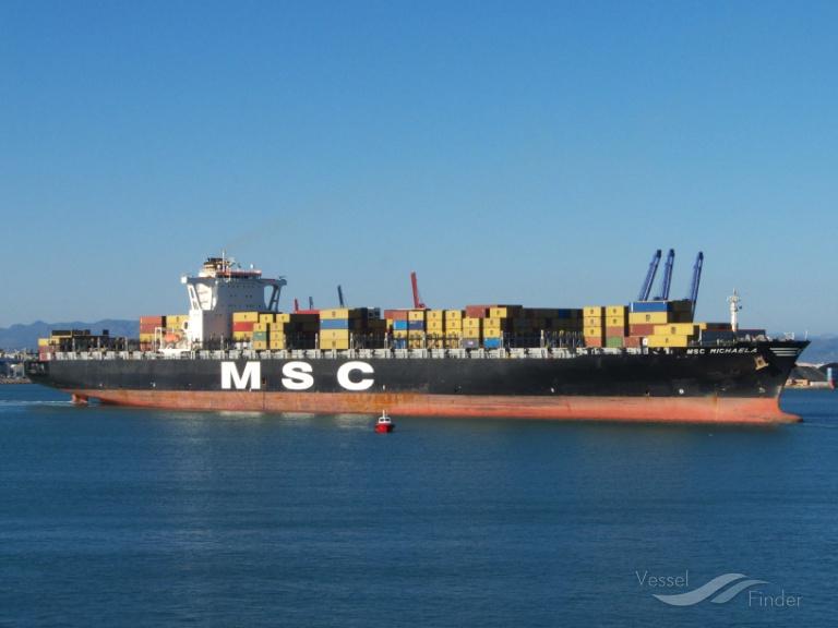 MSC MICHAELA (MMSI: 353666000) ; Place: Valencia