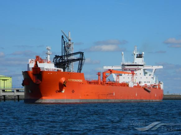 MT PETRONORDIC, Crude Oil Tanker - Details and current position