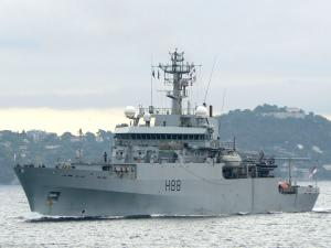 Photo of NATO WARSHIP H88 ship
