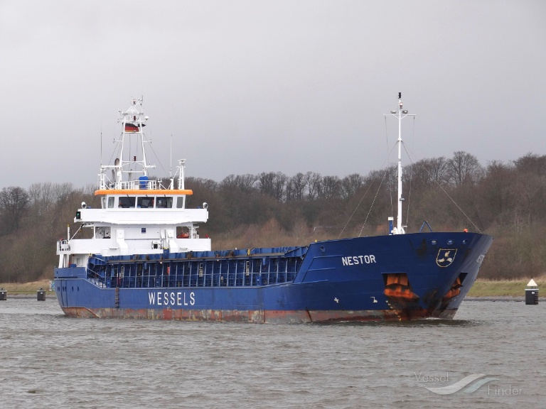 Nestor general cargo ship details and current position for Built by nester
