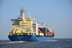 Photo of MSC WESER ship