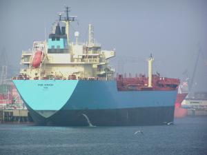 Photo of RAS MAERSK ship