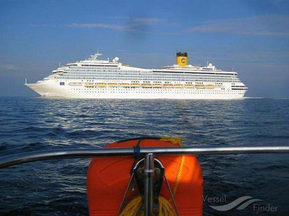 COSTA MAGICA (MMSI: 247113300) ; Place: Baltic Sea
