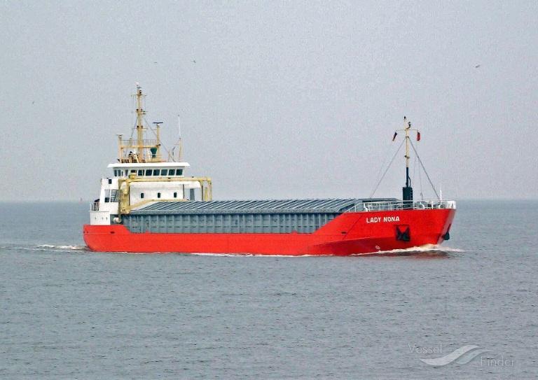 LADY NONA (MMSI: 244998000) ; Place: Vor Cuxhaven/Elbe, Germany