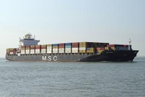 Photo of MSC ARUSHI R. ship