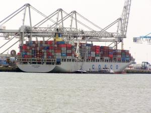 Photo of COSCO ANTWERP ship