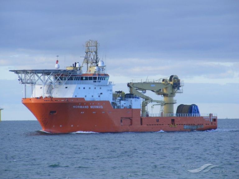 NORMAND MERMAID, Offshore Support Vessel - Details and