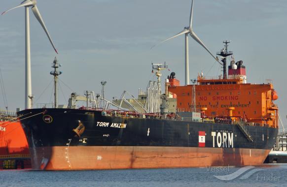 KESTREL, Crude Oil Tanker - Details and current position