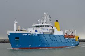 Photo of CEFAS ENDEAVOUR ship