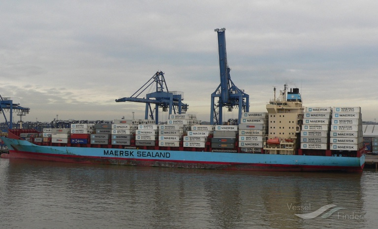 OLIVIA MAERSK, Container Ship - Details and current position