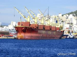 Photo of UBC SAIKI ship