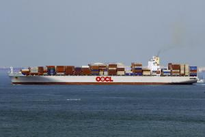 Photo of OOCL NINGBO ship