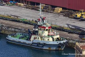 Photo of CARES ship