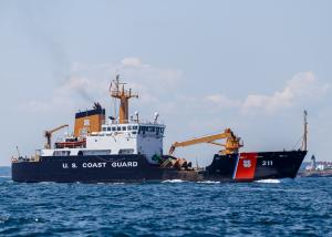 Photo of CG OAK ship
