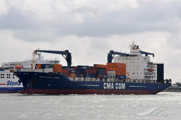 CMA CGM F. ST PIERRE photo
