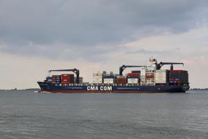 Photo of CMA CGM F. ST PIERRE ship