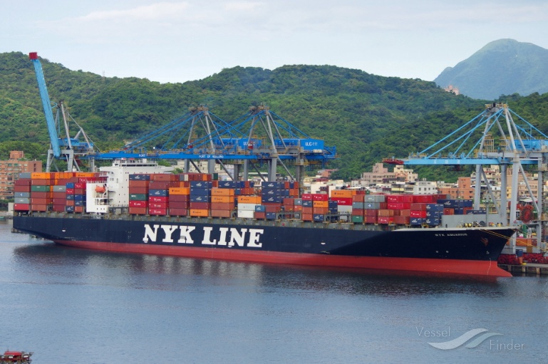 NYK AQUARIUS, Container Ship - Details and current position