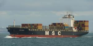 Photo of MSC BANU ship