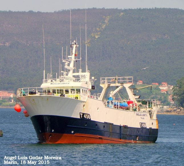 SKELLIG LIGHT II, Fishing Vessel - Details and current position - IMO 9265263 MMSI 250486000