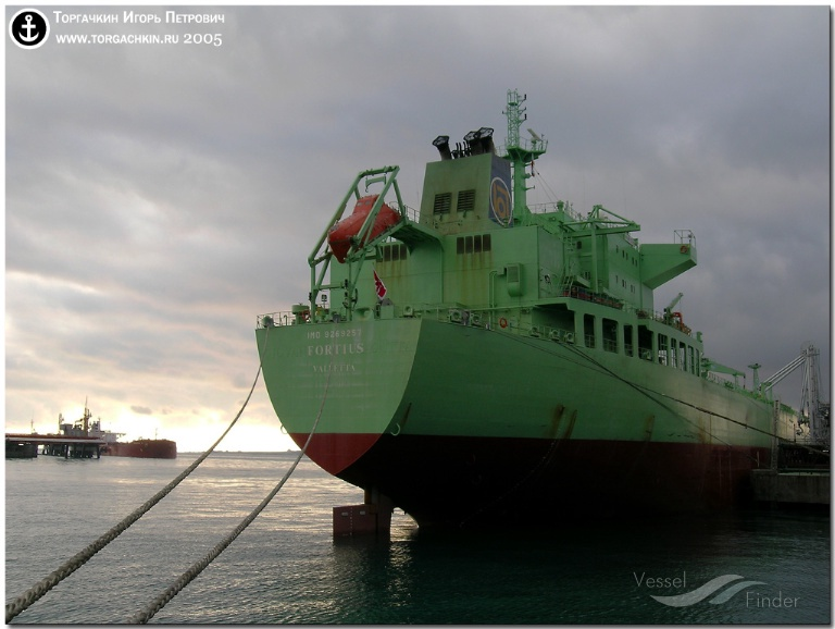 BW LARA (MMSI: 565134000) ; Place: Oil Terminal SHESKHARIS, port Novorossiysk, Russia.