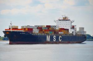 Photo of MSC ROMANOS ship