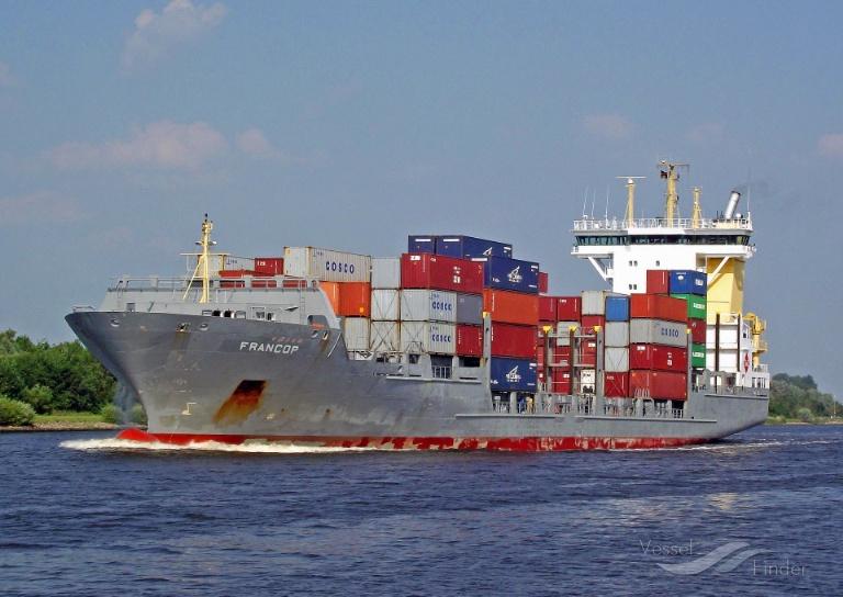 FRANCOP (MMSI: 305234000) ; Place: Kiel_Canal