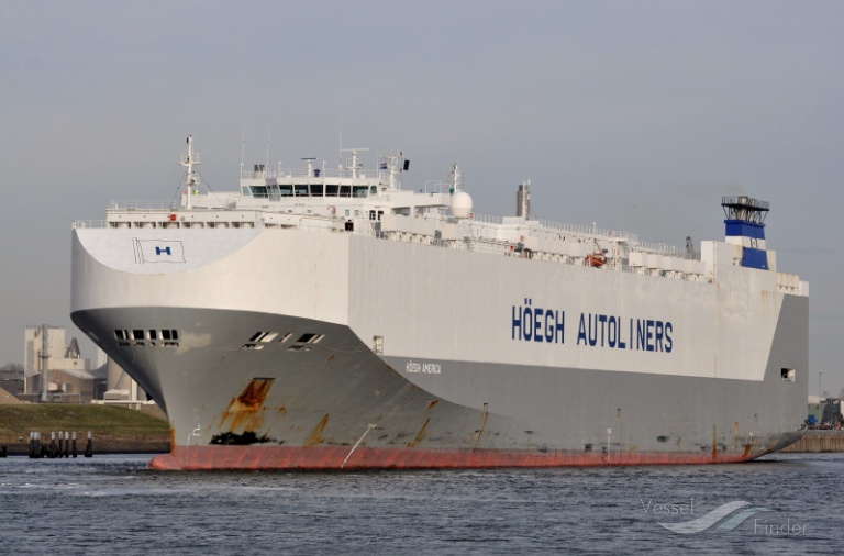 HOEGH AMERICA, Vehicles Carrier - Details and current