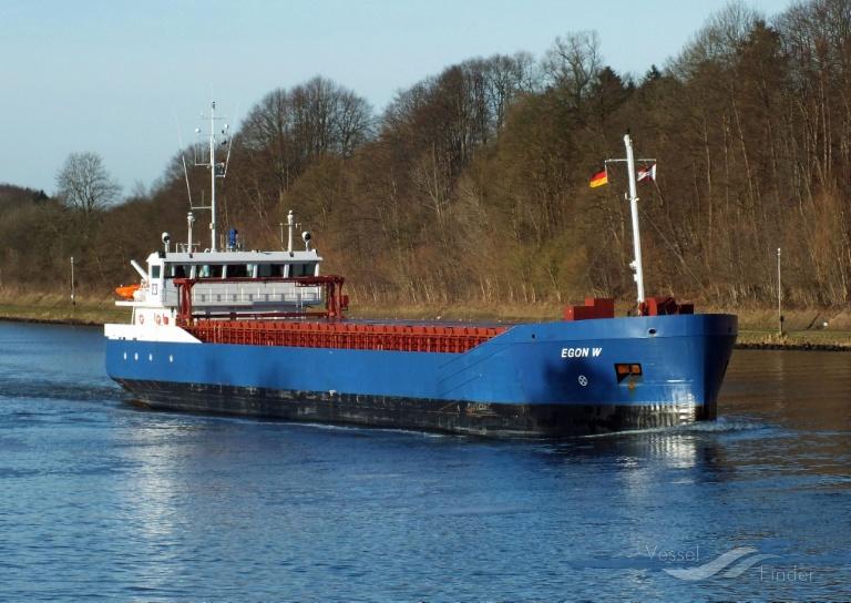 EGON W (MMSI: 304520000) ; Place: Kiel_Canal
