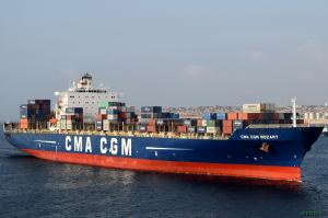 Photo of CMA CGM MOZART ship