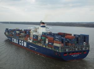 Photo of CMA CGM PUCCINI ship