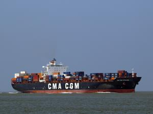 Photo of CMA CGM STRAUSS ship