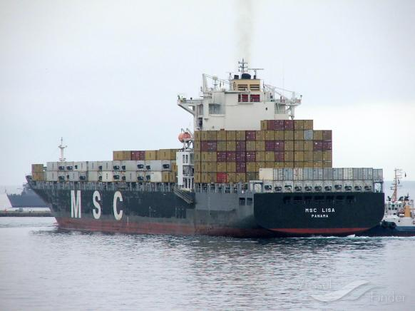 MSC LISA Vessel Tracking | Live position | IMO 9281279 | MMSI 353968000