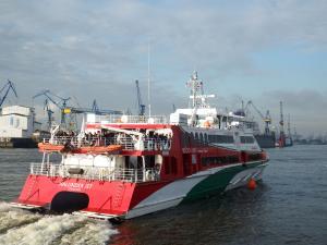 Photo of HALUNDER JET ship