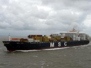 Photo of MSC ANS ship