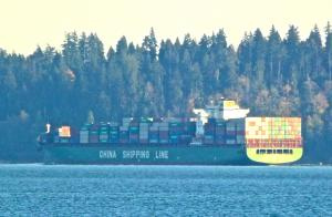 Photo of CSCL AFRICA ship