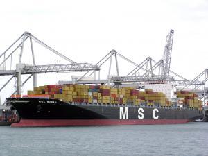 Photo of MSC BUSAN ship
