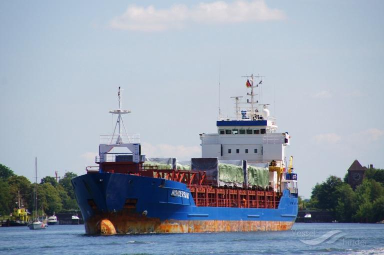 NORDERSAND (MMSI: 236265000) ; Place: Kiel - Holtenau, Germany