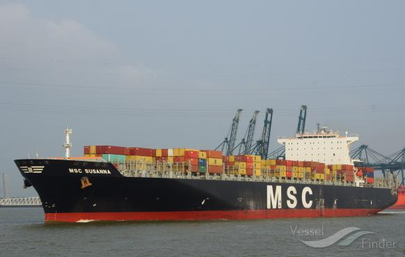 MSC SUSANNA Vessel Tracking | Live position | IMO 9290543