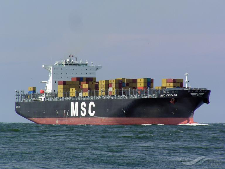 MSC CHICAGO (MMSI: 218650000)