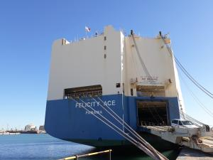 Photo of FELICITY ACE ship
