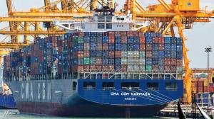 Photo of CMA CGM NARMADA ship