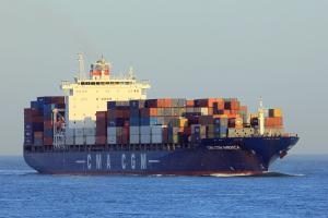 Photo of CMA CGM AMERICA ship