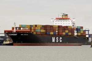 Photo of MSC BHAVYA ship