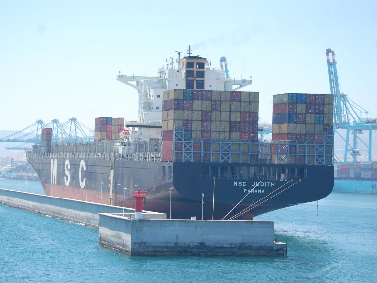MSC JUDITH, Container Ship - Details and current position - IMO
