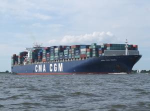 Photo of CMA CGM MEDEA ship
