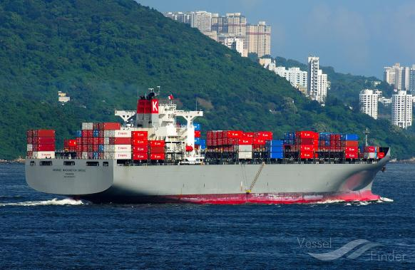 GEORGE WASHINGTON BR, Container Ship - Details and current