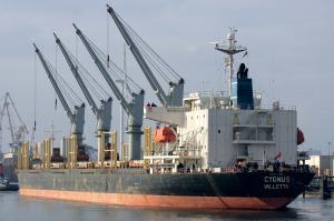 Photo of CYGNUS ship