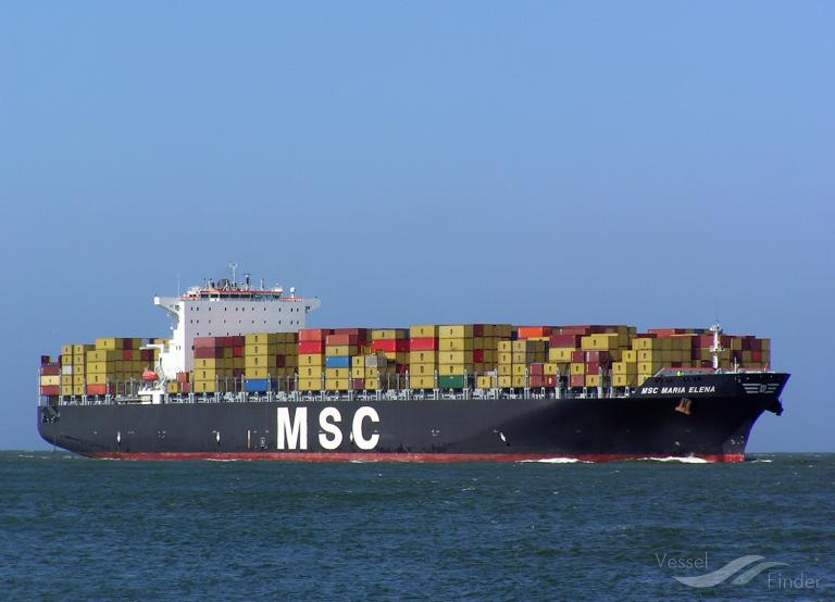 MSC MARIA ELENA, Container Ship - Details and current position - IMO